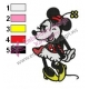 Minnie Mouse Cartoon Embroidery 20